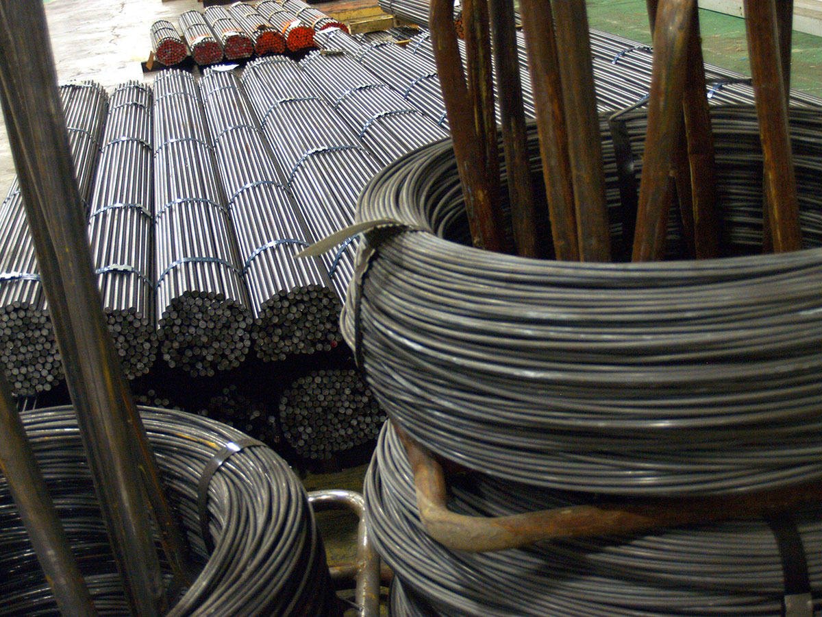 Cold Drawn Wire and Hot Rolled Steel Bar